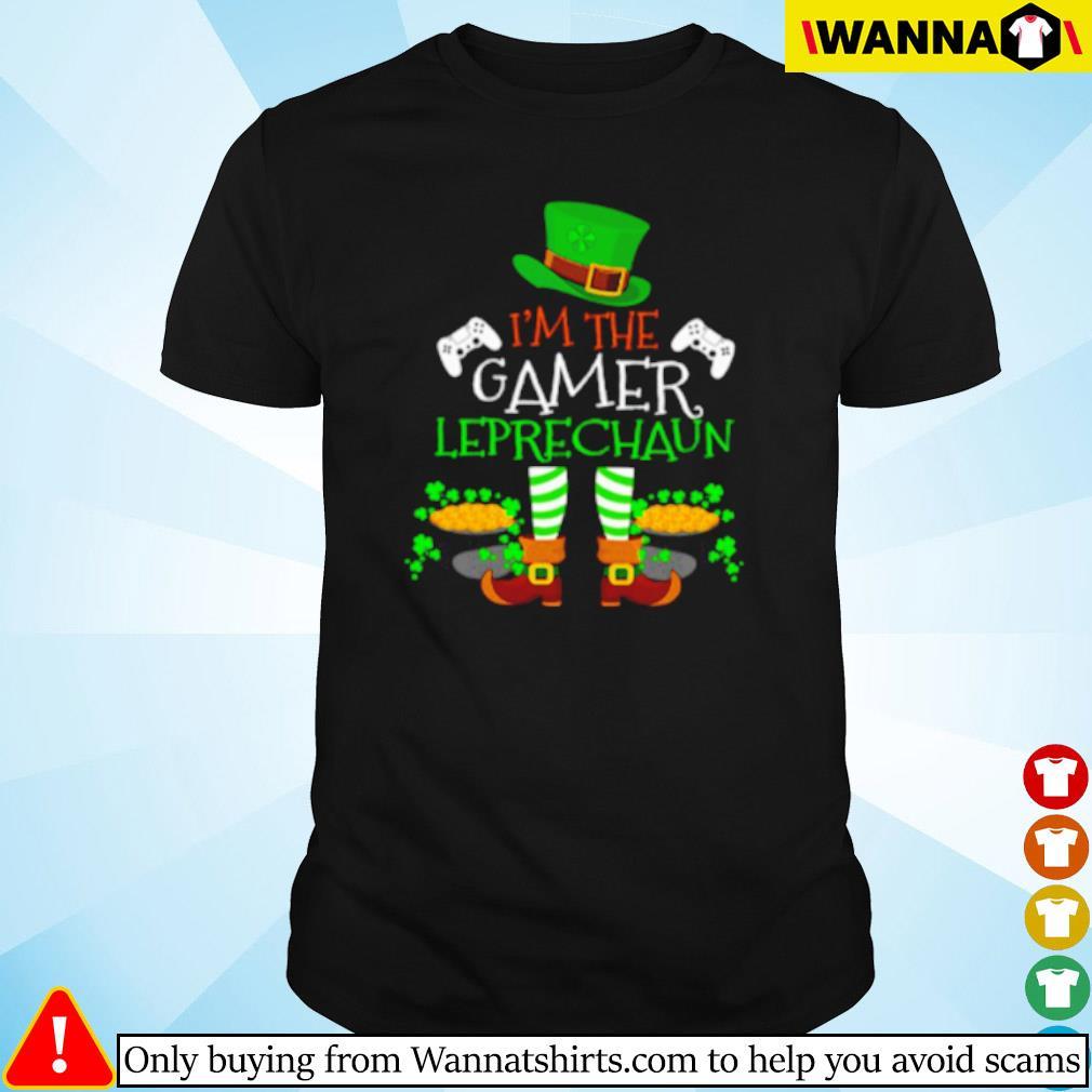 I'm the gamer Leprechaun Irish shirt